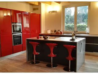 Built-in kitchens by Formarredo Due design 1967,