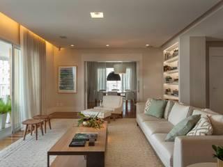 Projeto de Interiores em Apartamento :   por Del Nero Da Fonte Arquitetura