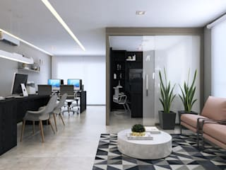 Modern office buildings by Rosana Pintor Arquitetura e Interiores Modern