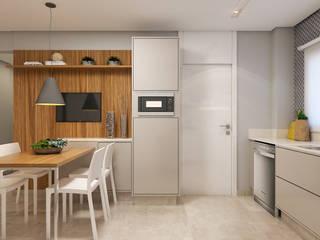 Modern kitchen by Rosana Pintor Arquitetura e Interiores Modern