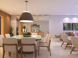 Modern dining room by Rosana Pintor Arquitetura e Interiores Modern