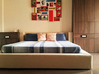Interiors:  Bedroom by The Couple Room Project