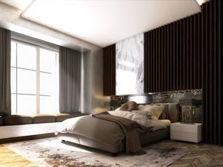 ALMANSOUR RESIDENCE من Belal Samman Architects حداثي