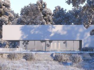 Eco-Passive House: minimalist  by VIZPIXEL STUDIO,Minimalist
