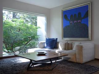 Área de lectura.: Estudios y oficinas de estilo minimalista por Stuen Arquitectos