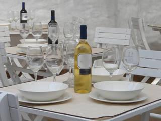 Minimalistika.com Mediterranean style gastronomy Wood White
