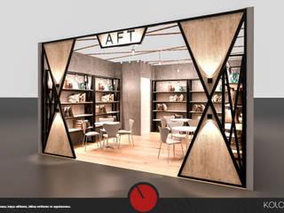 Aft Tekstil - Fuar Standı Tasarımı Kolon Mimarlık - İçmimarlık Rustik