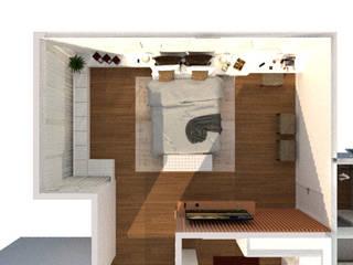Dormitório: Quartos  por Thaiad Pinna -Studio de Arquitetura e Interiores