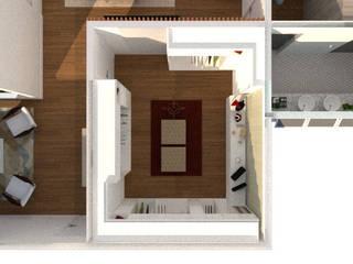 Closet: Closets  por Thaiad Pinna -Studio de Arquitetura e Interiores