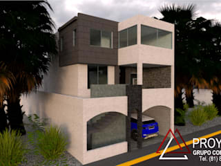 Modern houses by PROYECTA Grupo Constructivo Modern
