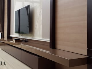 Likha Interior Living room Plywood Brown