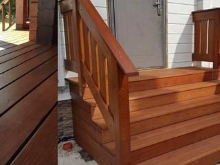 BOYACI DÜKKANI Balconies, verandas & terraces Furniture Wood Wood effect