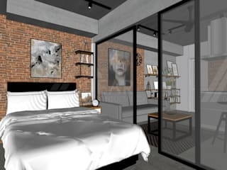 Bedroom by Idear Architectural Design Consultancy, Rustic