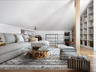 DZINE & CO, Arquitectura e Design de Interiores Ausgefallene Wohnzimmer