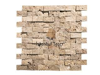 İSTANBUL TAŞÇI ® – Noce Trraverten 2,5x5 cm Patlatma Taş:  tarz