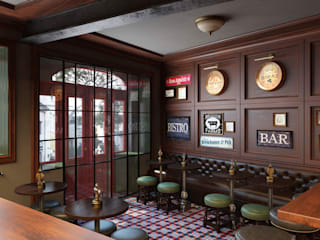 DZINE & CO, Arquitectura e Design de Interiores บาร์และคลับ