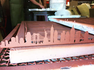 SKYLINE NEW YORK:  de estilo industrial de SKYLINES OF THE WORLD, Industrial