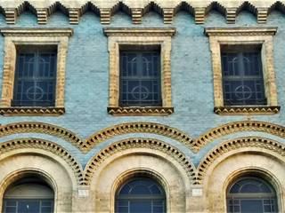 Fachada: Casas multifamiliares de estilo  de Estudio Técnico Integral