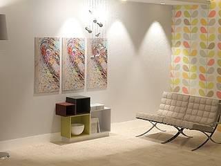 """Progetto modulare """"qubrick"""":  in stile  di Roberto Galvani Studio di Interior Design"""