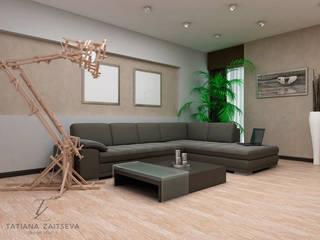 Гостиная в стиле минимализм от Design studio TZinterior group Минимализм