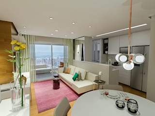 Modern Living Room by QViveAlli Modern