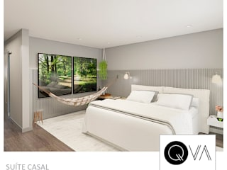 Rustic style bedroom by QViveAlli Rustic