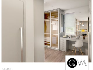 Modern Dressing Room by QViveAlli Modern