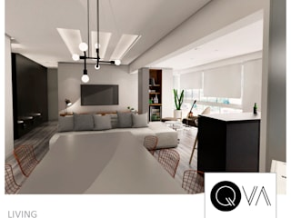 Modern Dining Room by QViveAlli Modern