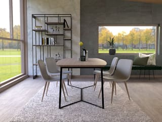 Modern dining room by BORAGUI - Design Studio Modern