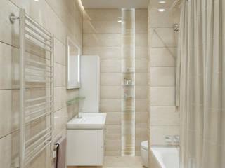 Ванные Ванная комната в стиле минимализм от enki design Минимализм