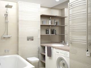 Minimalist bathroom by enki design Minimalist