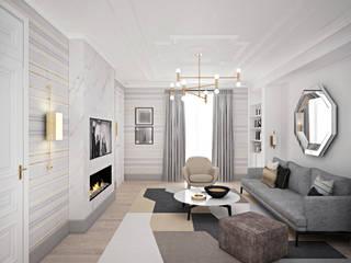 Salas de estar minimalistas por enki design Minimalista