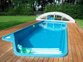 FRP Swimming Pools Classic style pool by Scube Creations Classic