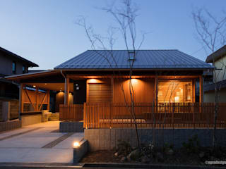 Wooden houses by アグラ設計室一級建築士事務所 agra design room