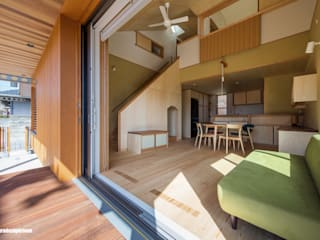 Modern windows & doors by アグラ設計室一級建築士事務所 agra design room Modern