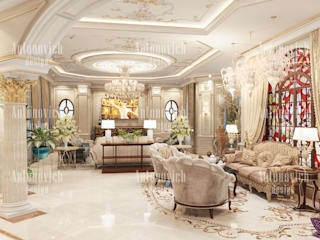​Best design projects of Katrina Antonovich:  Living room by Luxury Antonovich Design