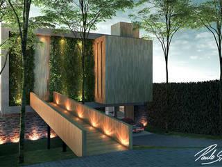 Casa DB por Paulo Stocco Arquiteto Moderno