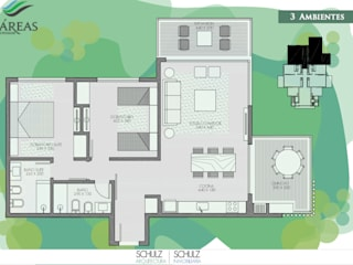 Imáreas- Residencias de Pinamar Hoteles de estilo moderno de Estudio Schulz Moderno