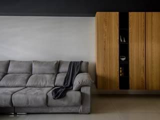 Phòng khách phong cách Bắc Âu bởi 愛上生活室內設計 Bắc Âu