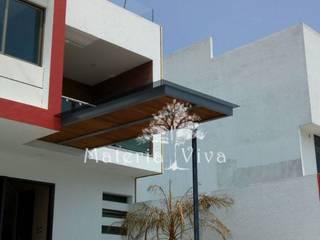 Casas modernas de Materia Viva S.A. de C.V. Moderno