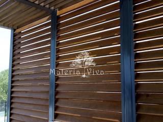 Balkon, Beranda & Teras Gaya Eklektik Oleh Materia Viva S.A. de C.V. Eklektik