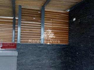 Balcones y terrazas de estilo ecléctico de Materia Viva S.A. de C.V. Ecléctico