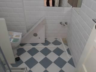 Casa de banho em Obra:   por Rodrigo Roquette