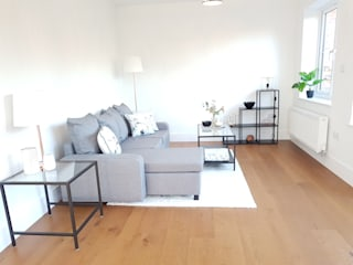 Living room by THE FRESH INTERIOR COMPANY, Minimalist
