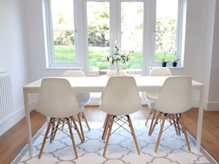 Dining room by THE FRESH INTERIOR COMPANY, Scandinavian