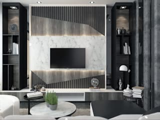 Semi Detached House - Austin Residence Johor Bahru,Malaysia by Enrich Artlife & Interior Design Sdn Bhd Modern