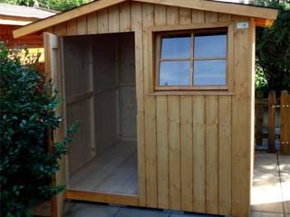 Domek ogrodowy Veltlin : styl , w kategorii  zaprojektowany przez Geisser Sp z o.o.