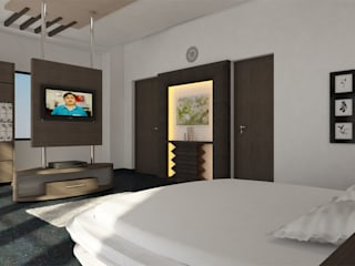Modern style bedroom by Monoceros Interarch Solutions Modern