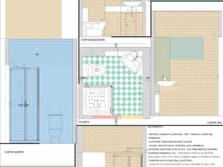 Casa de banho verde:   por Rodrigo Roquette