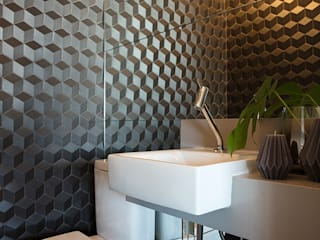 ALF HOME - Cambuci Banheiros modernos por Semíramis Alice Arquitetura & Design Moderno